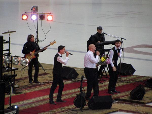Александр Солодуха и сыновья
