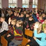В социальном приюте - внимательные слушатели