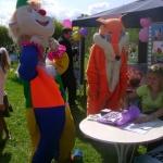 Могилёвкиновидеопрокат организовало фотосессию с лисой и клоуном