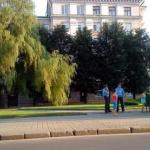 Сквер возле БРУ