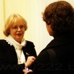 Светлана Суховей и корреспондент www.222.by