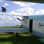 АН-2 во время дозаправки