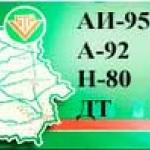 Информер концерна «Белнефтехим» сообщает о ценах на бензин