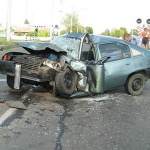 В результате аварии пострадала 2-летняя девочка