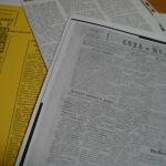 заметка в газете,  первое упоминание о городской библиотеке
