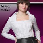 Белоснежная блузка ZADORI M21-10
