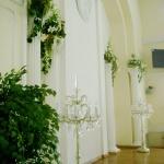 золотой зал: зимний  сад