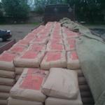 Изъято 50 тонн цемента