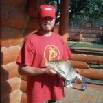 Вячеслав Климович - бард, рыболов, автор идеи и один из организаторов фестиваля