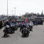 Могилёвские байкеры открывают сезон