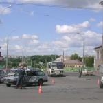 ДТП на перекрёстке ул.Лазаренко и ул.Первомайской
