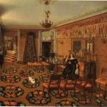 Интерьер гостиной, 1840-е, неизвестный художник
