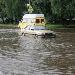 """Большая вода"" возле ГИППО"
