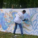 граффити на Дубровке