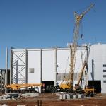 Строительство завода в Могилёве