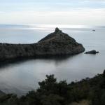 Тихая бухта Царского пляжа