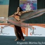 Оксана Боровик - инструктор по восточным танцам