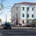 Улица Комсомольская в Могилёве