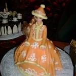 торт от кофейни Да Винчи