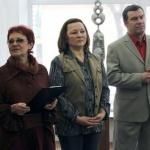 Галина и Владимир Кононовы на открытии выставки
