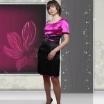 Нарядное платье ZADORI M26-10