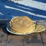 Блин является символом солнца и традиционным масленичным блюдом