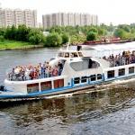 Теплоход в Бобруйске