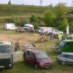 лагерь мотоциклистов