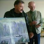 А.Тиханович любит картины о рыбалке и разговоры о Рыбаке