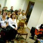 апплодисменты зала и гитара Борисенко Александра обеспечили музыкальное сопровож