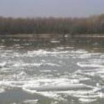 плывут льдины далеко
