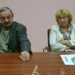 Сычёв Сергей Григорьевич (Беларусь) и Дадзите Рита (Латвия), члены жюри