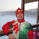 Василий Шаптебой на фоне красот Скандинавии