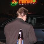 положение Схватки гласит: спиртное нельзя принимать уже за день до игры