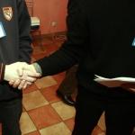 Наше Радио - футбол - рукопожатие соперников