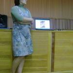 во время семинара результаты двухмесячной работы в Национальной библиотеке демон