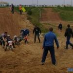 гонки класса 50 см3, на трассе и взрослые и дети
