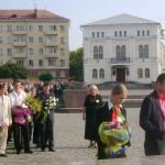 торжественная миссия, школьники при исполнении