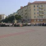 торжественная церемония открытия городской вахты памяти
