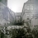 Сильно повреждённый дом на Мариенштрассе, Берлин