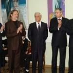 Открытие выставки Виктора Альшевского