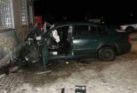 Вот так неудачно припарковался водитель из Бобруйска 26 декабря