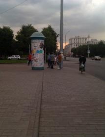 Акция молчаливого протеста в Могилёве 27 июля
