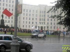 Марафон по местам боевой славы стартовал в среду вечером в Могилёве