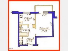 1-комнатная квартира по ул. Мовчанского