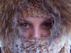 В Могилёве очень холодно