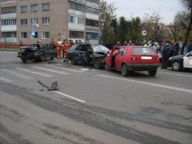 авария на дорогах