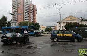 Авария в центре Могилёва