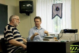 Винцук Вечорка и Пётр Садовский