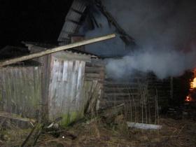 Пожар в Белынковичах. Двое человек погибли.